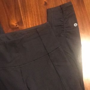 Lululemon high times mesh black leggings